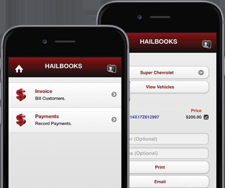 Hailbooks Accounting Screens