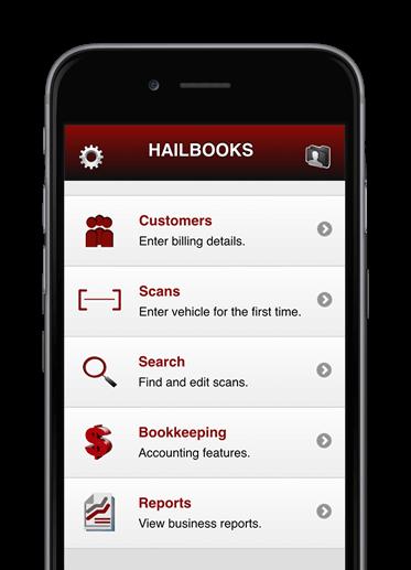 Hailbooks Home Screen